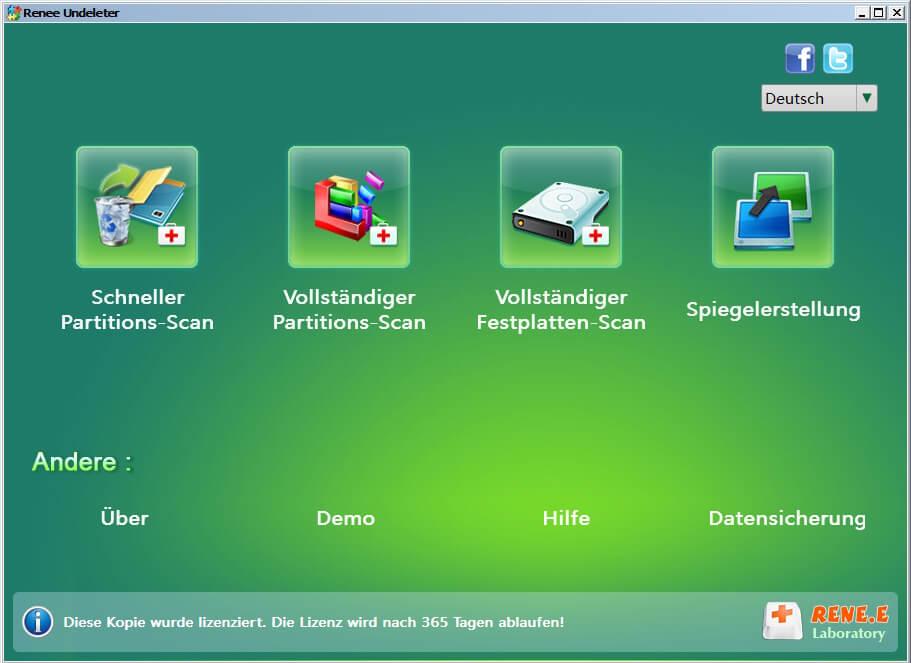 Anleitung zur Datenrettung